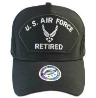 "Бейсболка ""U.S. Air Force Retired"" черная"